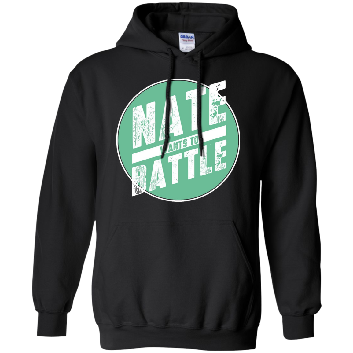 NateWantsToBattle Circle Tee t-shirt