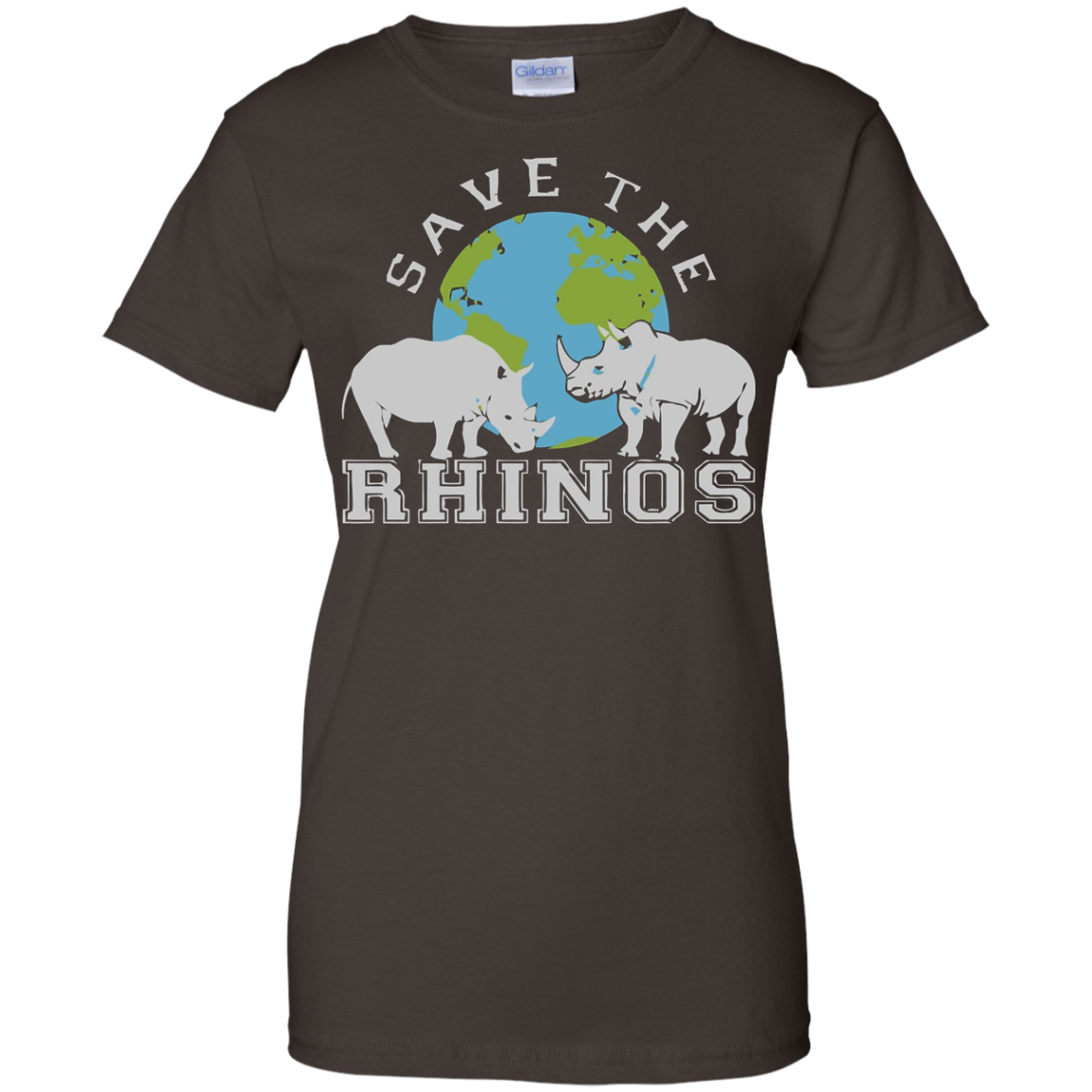 Rhino T-shirt Save The Rhinos