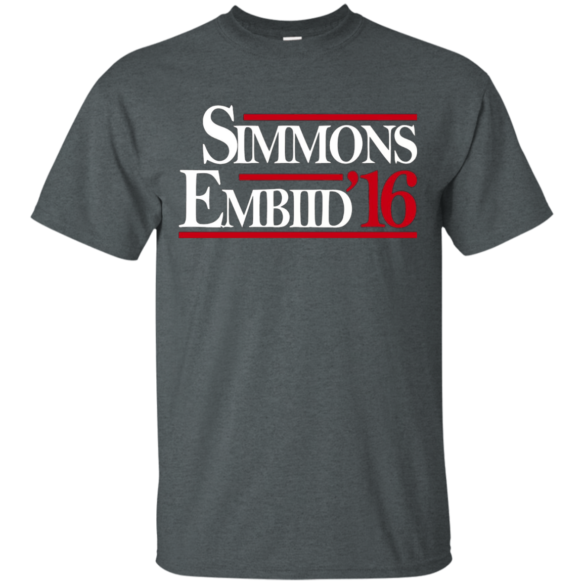 Simmons Embiid 16 shirt