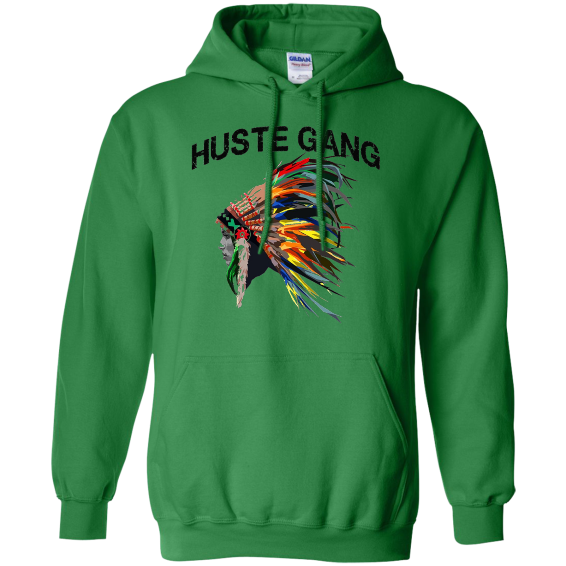 Hustle gang t shirt