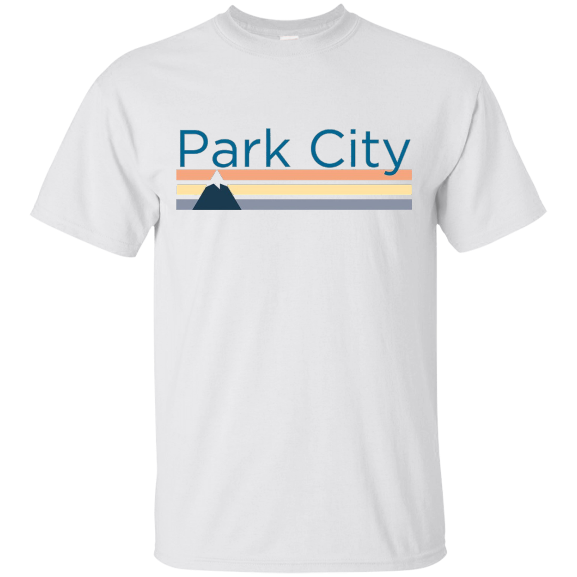 Park City Retro Mountain – Utah T-Shirt