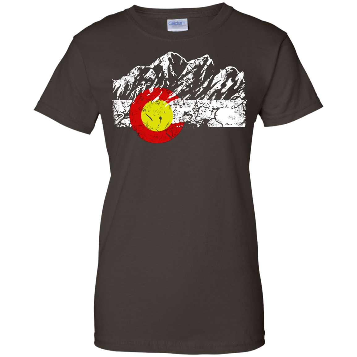 Colorado State - Colorado Moutains Flag T Shirt Gift