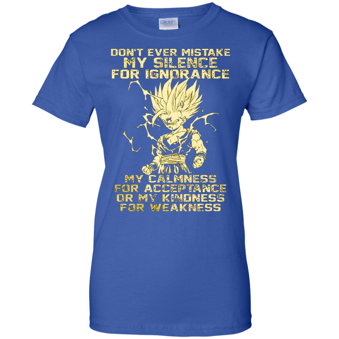 Don't Ever Mistake My Silence For Ignorance T-Shirt