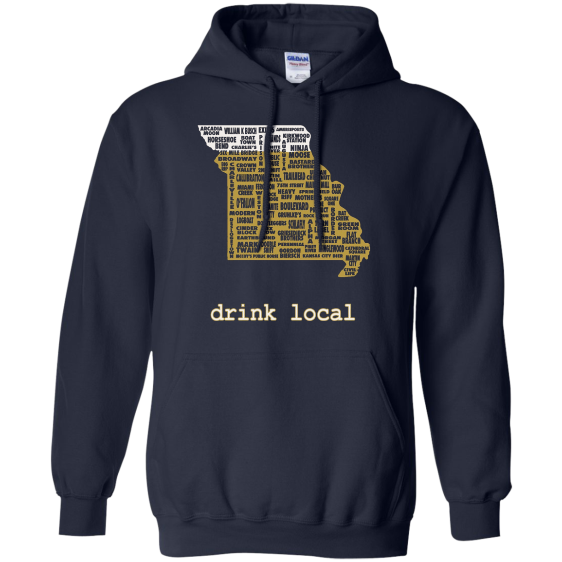 Drink Local - Missouri Beer Shirt