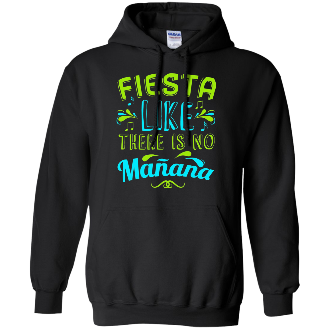 Fiesta Like There Is No Manana Funny Drinking Party Tee