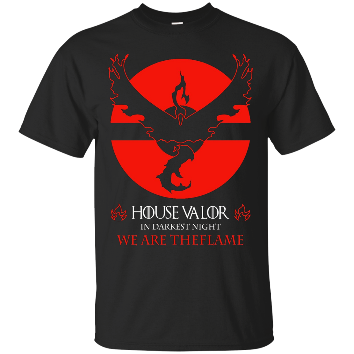 House Valor Poke Go T Shirt Team Valor T Shirt