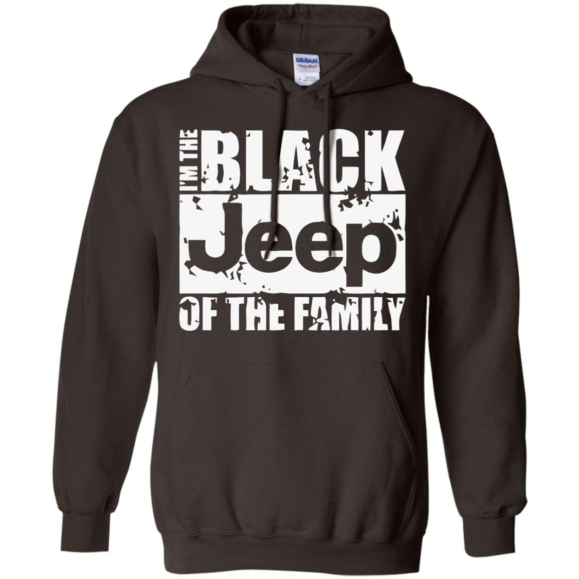I Am The Black Jeep of the Family Funny Black Sheep tshirt