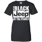 I Am The Black Jeep of the Family Funny Black Sheep T-Shirt