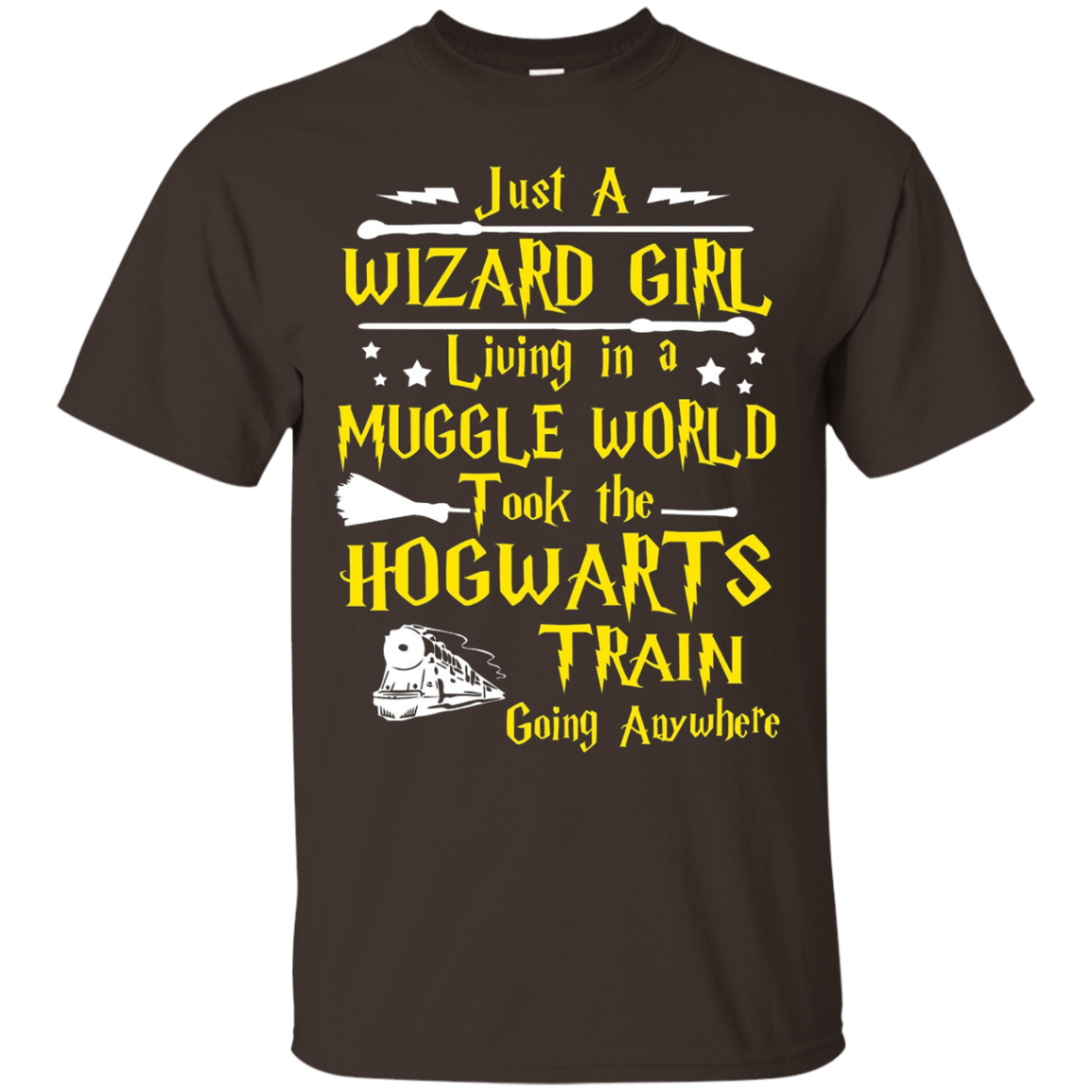 Just a Wizard Girl T-Shirt