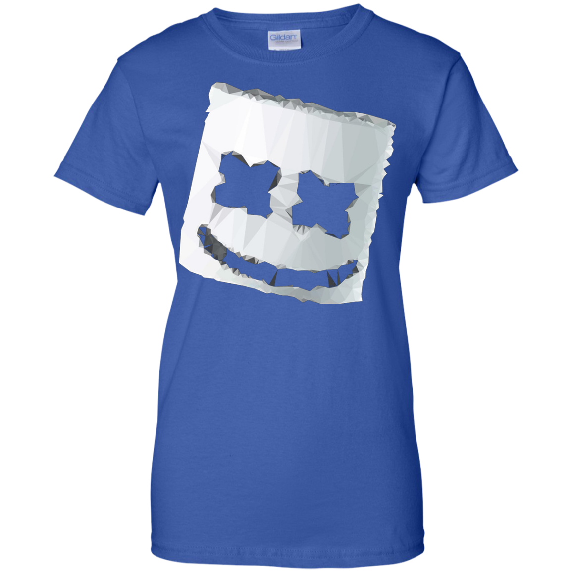 Keep It Mello Marshmallow Mask Head Face Helmet Tee T-shirt