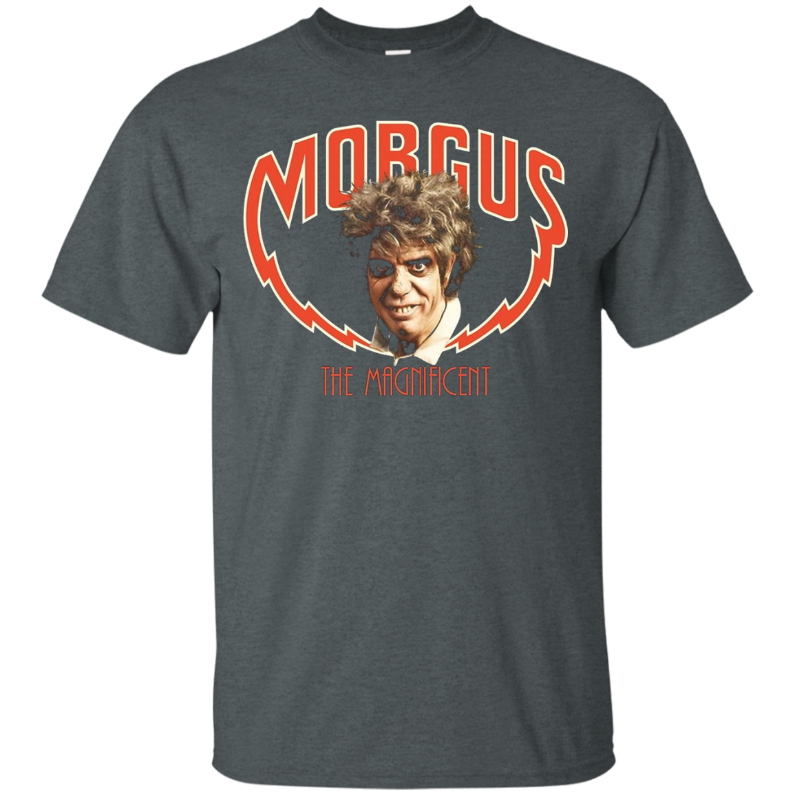 Morgus The Magnificent on a Tee Shrt