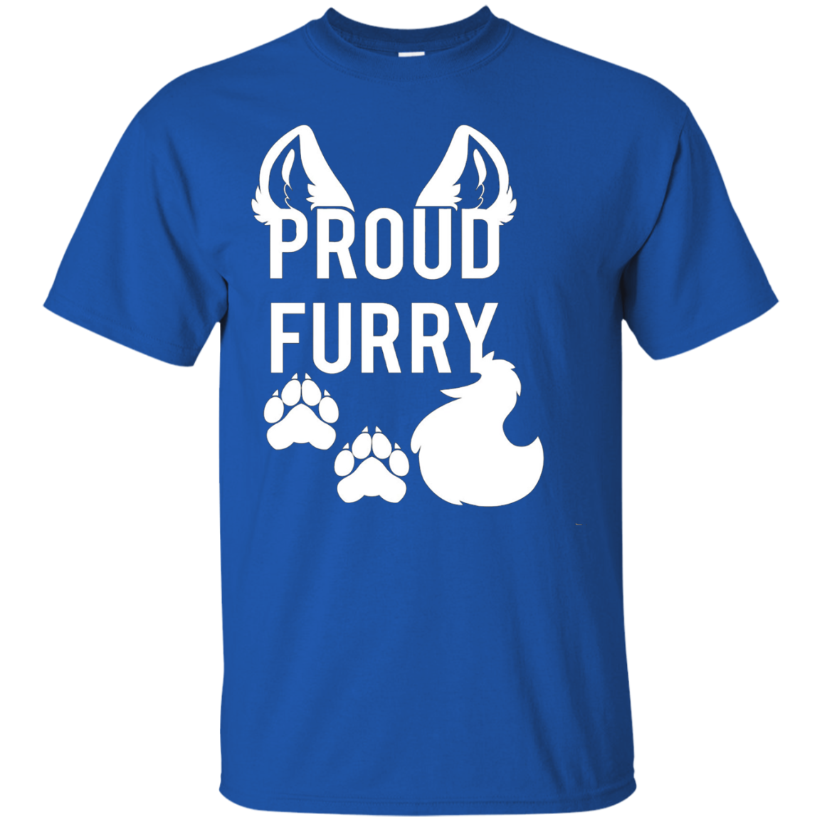 PROUD FURRY t shirt