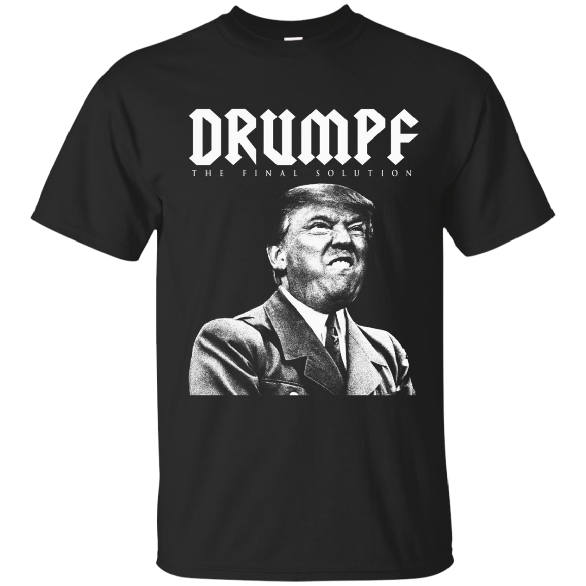 Adolf Trump Anti Donald Hitler Nazi Election Funny T Shirt