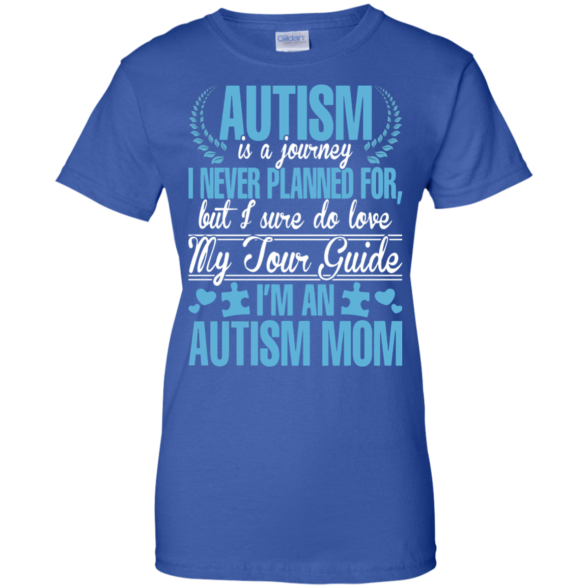 I Am An Autism Mom T Shirt