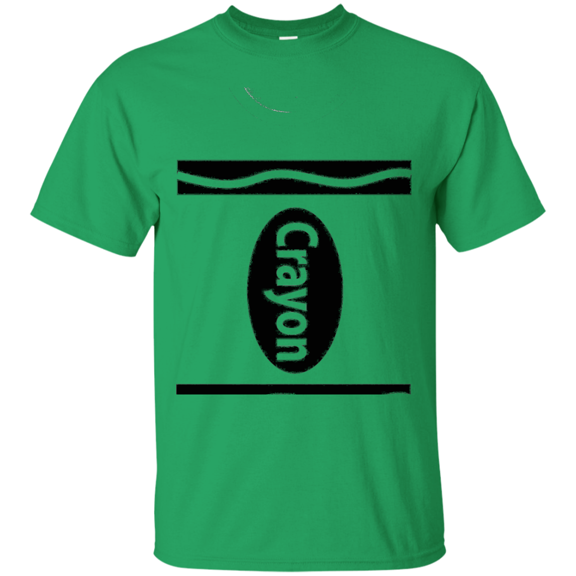 Crayon Costume T-Shirt Easy Simple Halloween Tee