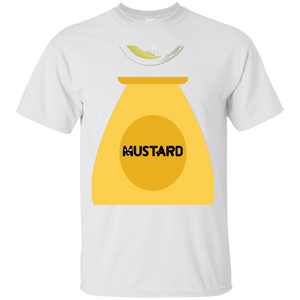 Mustard Bottle Condiment Halloween Costume T-Shirt
