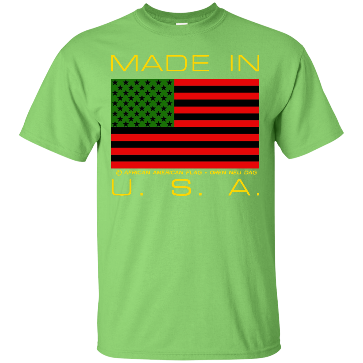 African American Flag Shirt