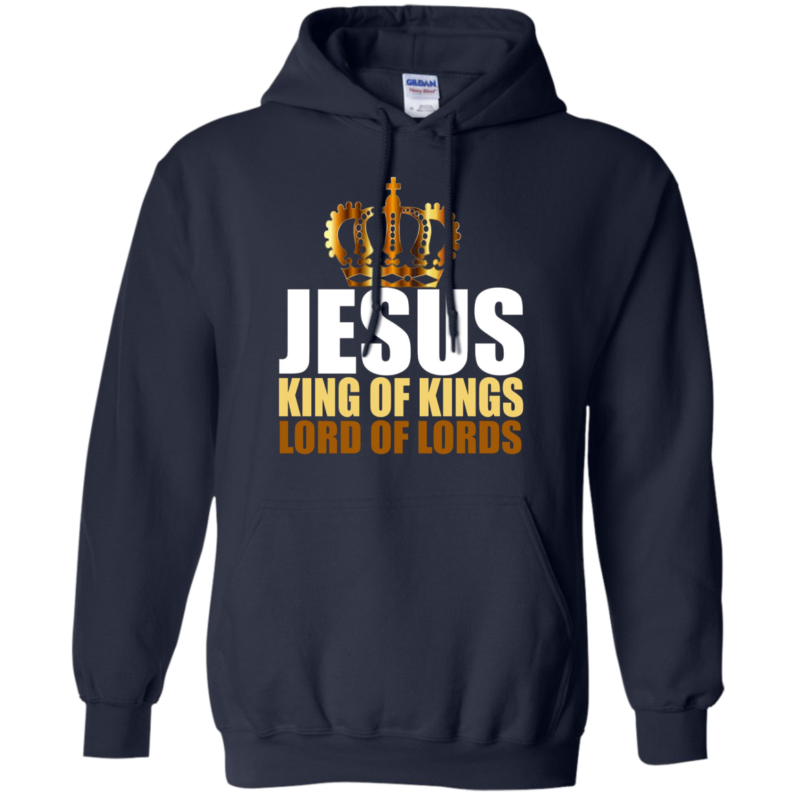 Jesus King of Kings Lord of Lords Christian T-Shirt