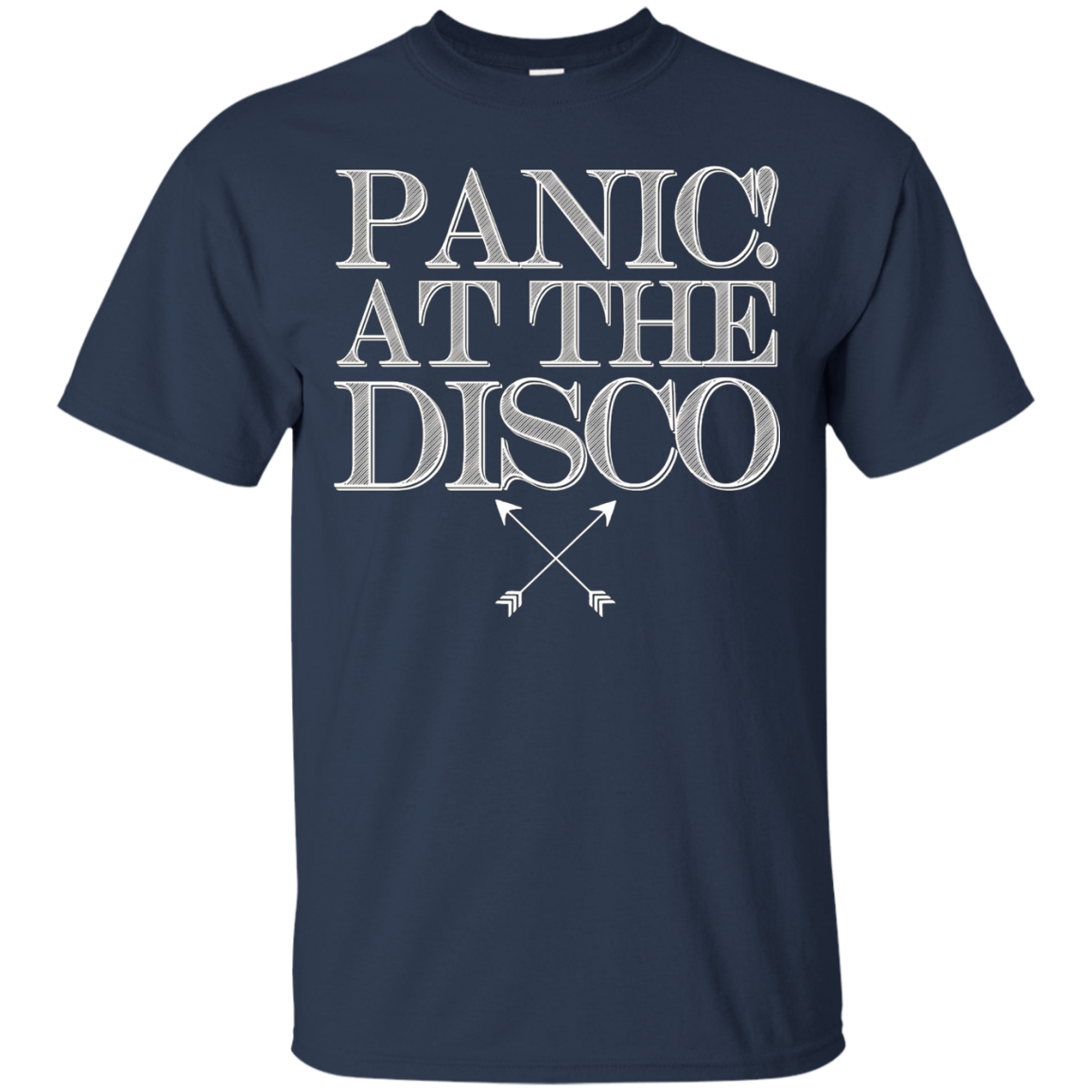 Ladies Panic! At The Disco Arrows Tee