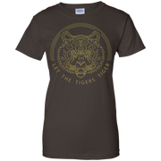 Let The Tigers Tiger Shirt GMM Let The Tigers Tiger T-Shirt
