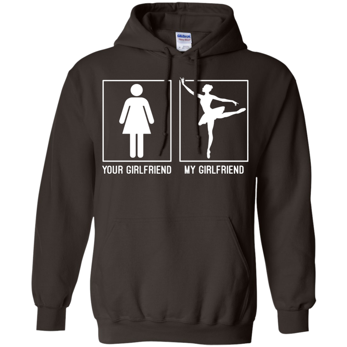 Men's my girlfriend Ballet Dancers Shirt - ballet tee shirt