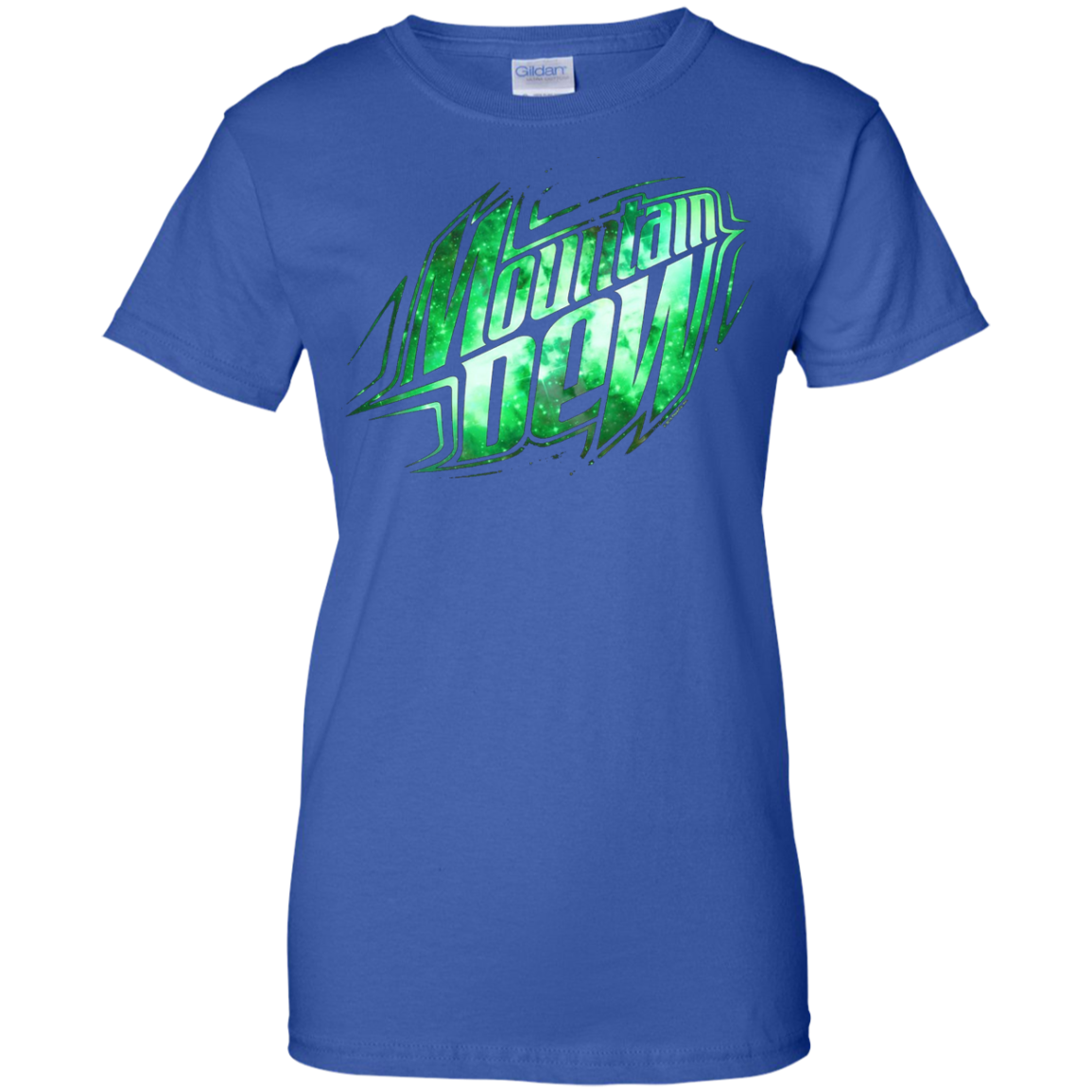 Mountain Dew Outer Space T-Shirt Soft Touch