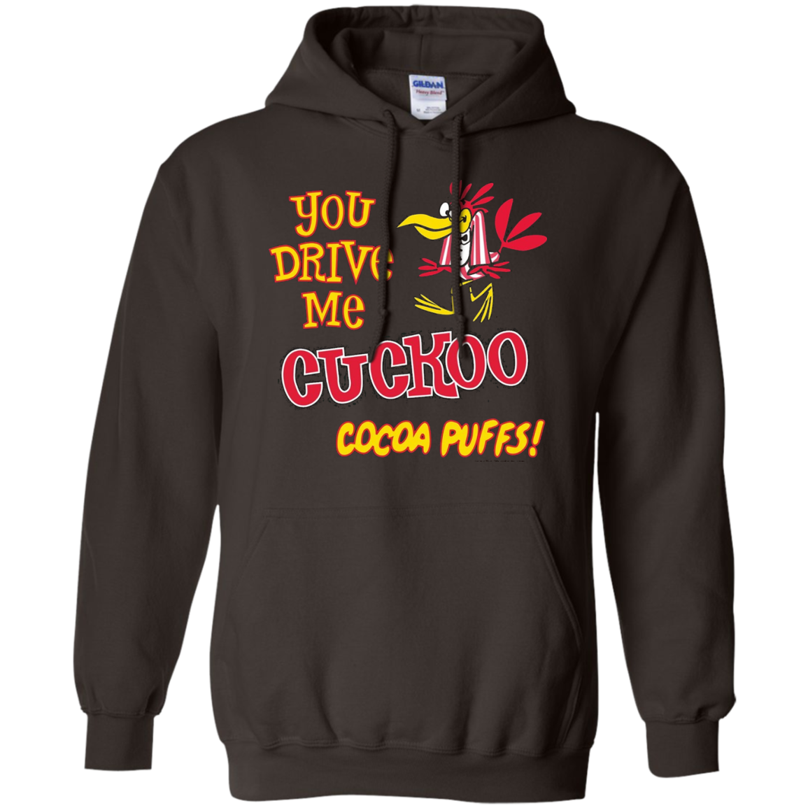"""You Drive Me Cuckoo for Cocoa Puffs!"" T-Shirt Soft Touch"