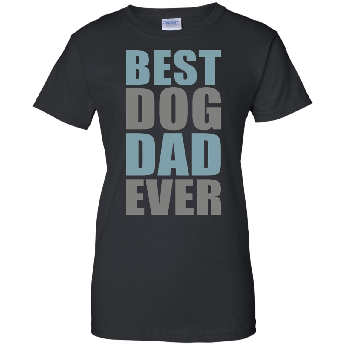 Best Dog Dad Ever T-Shirt, Gift for Dad, Worlds Best Dad