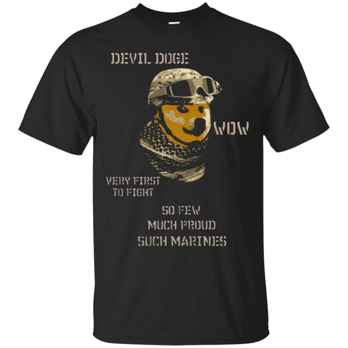 Devil Doge wow verry first to fight so few much pround such