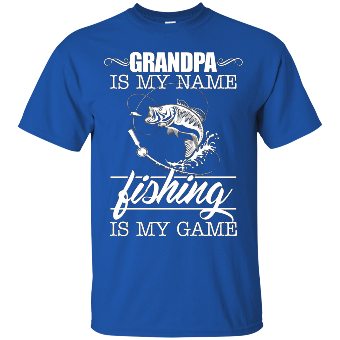 Fishing Grandpa Shirt