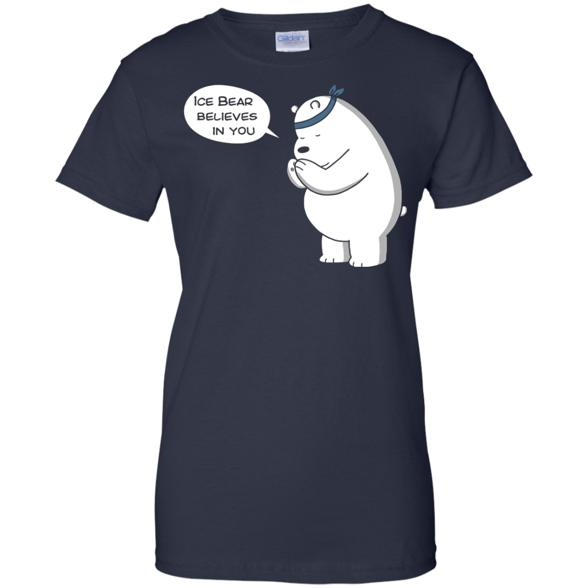 Ice Bear Believes In You - We Bare Bears