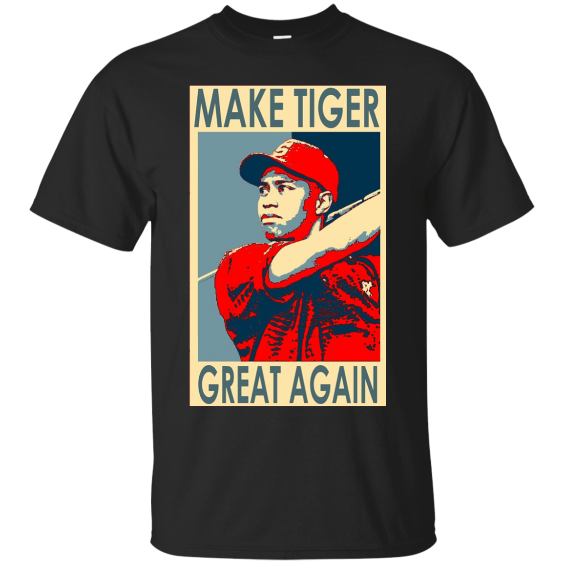 Make Tiger Great Again Shirt