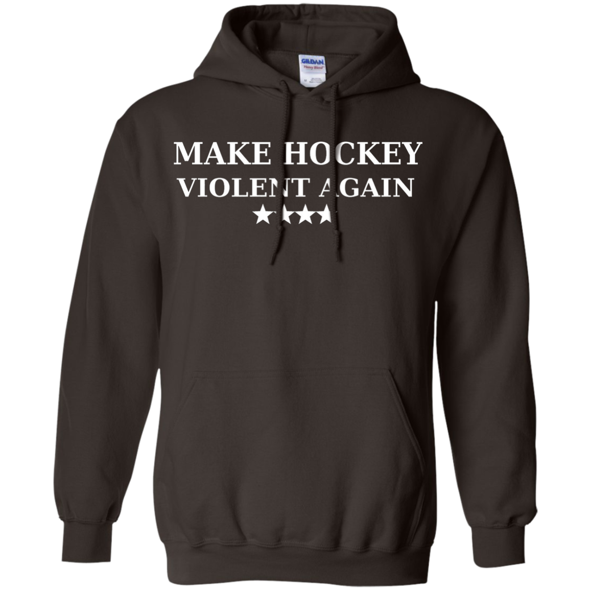 Make Hockey Violent Again Shirt Parody Trump T-shirt