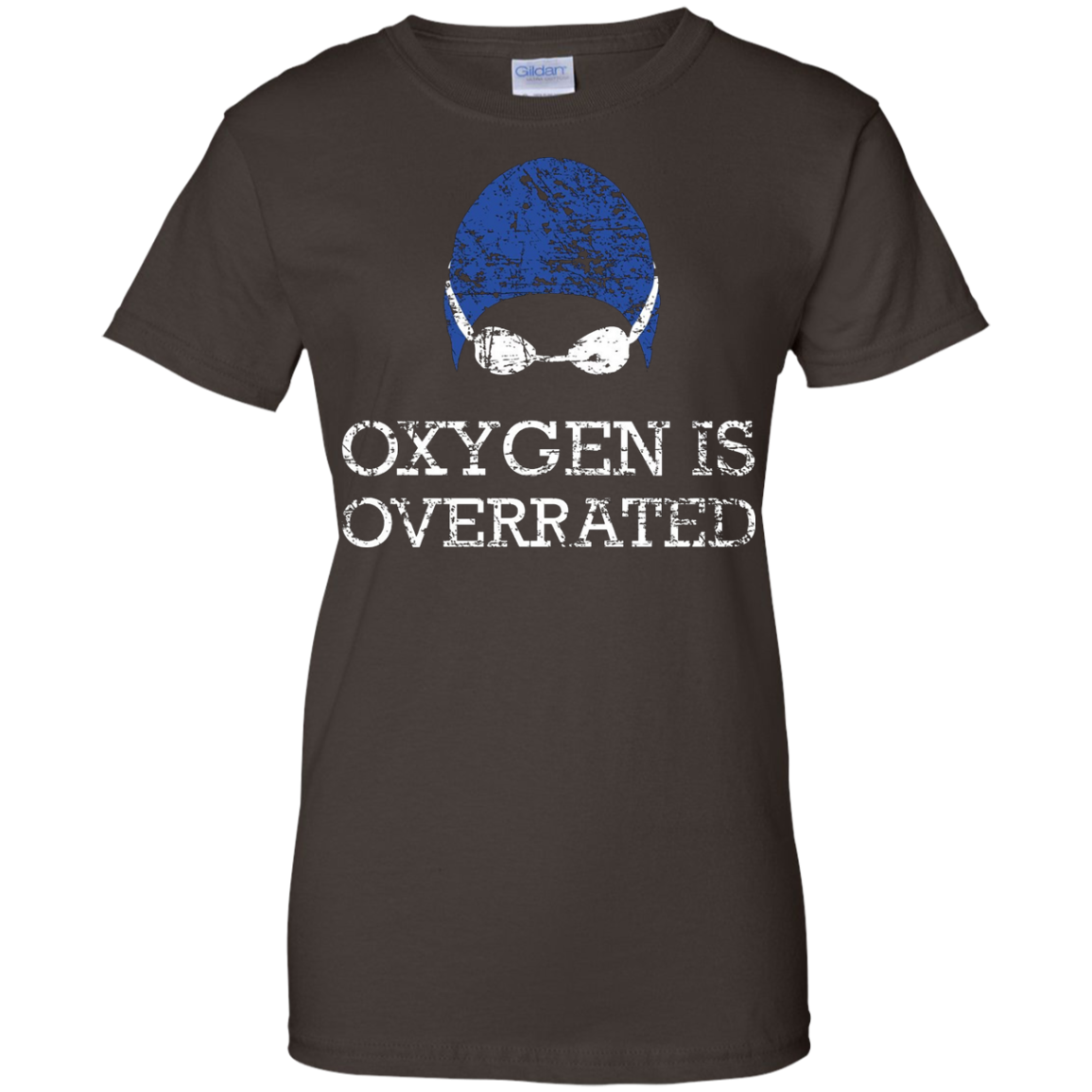 Oxygen is Overrated Shirt, Funny Swimming Swim Team Gift