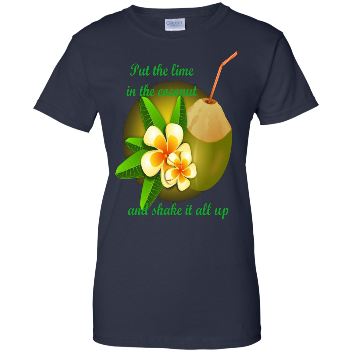 Party Time Lime in the Coconut TShirt