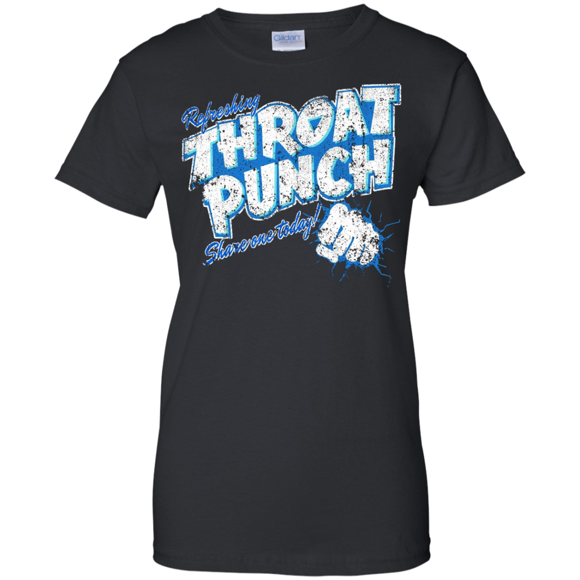 Refreshing Throat Punch Grunge T-Shirt