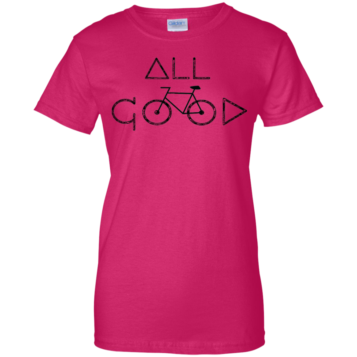 ALL GOOD BIKE T-Shirt Cycling Biking Road Bike