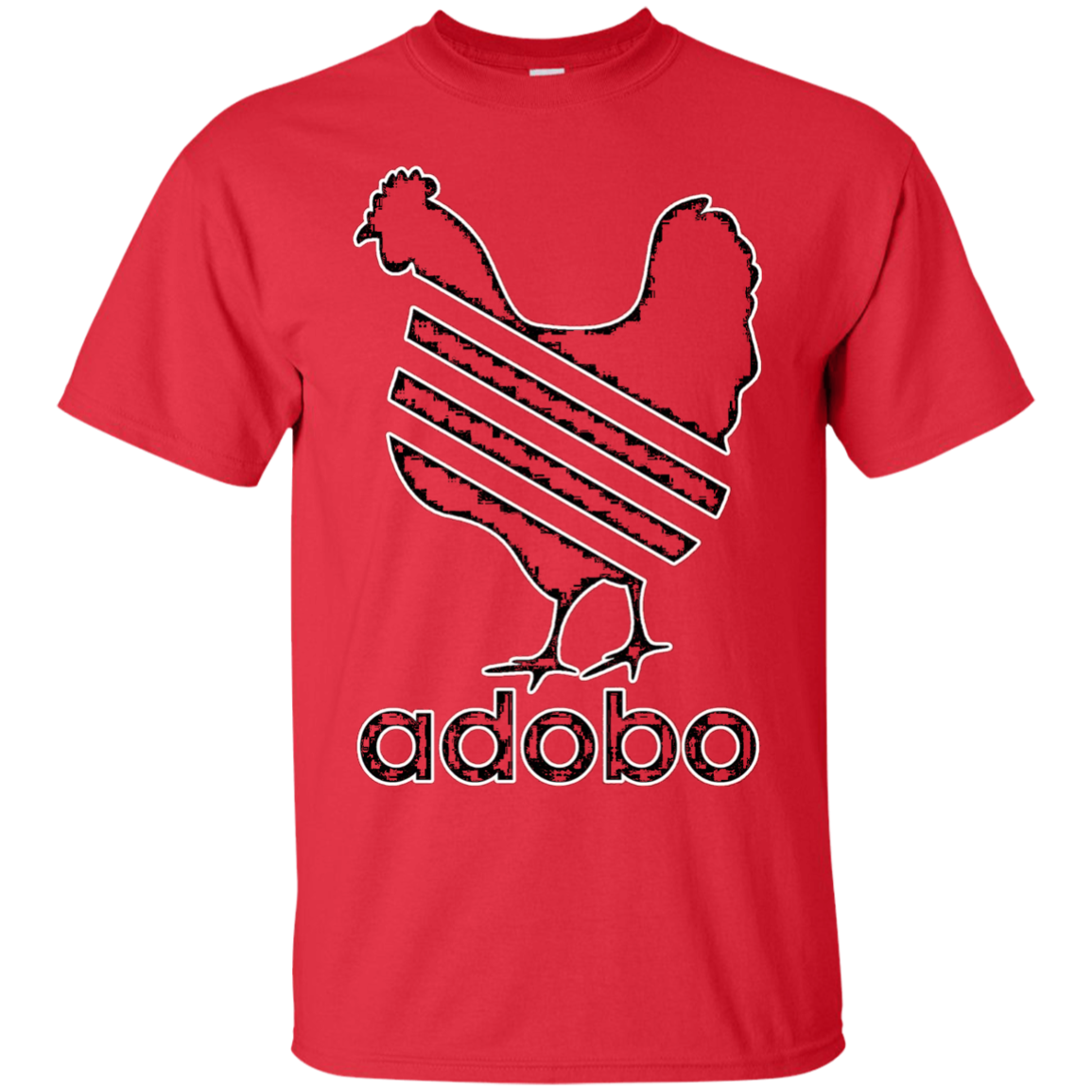 Chicken Adobo T Shirt Funny Filipino Pinoy Humor