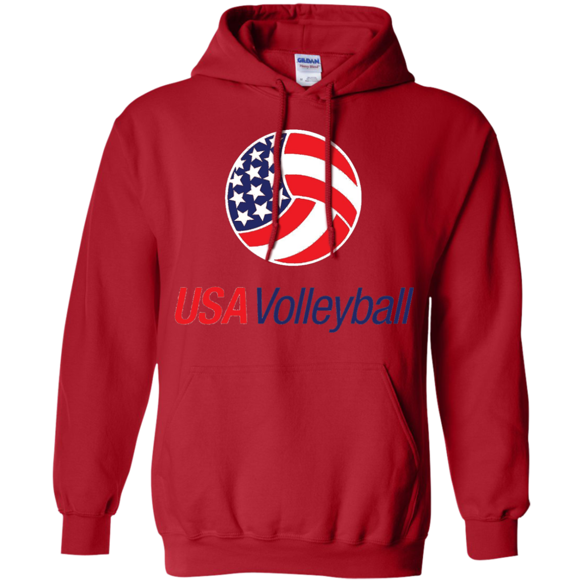 Usa Volleyball Logo T Shirt