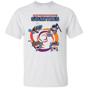 Mutant Ninja Teenage Squirtles Funny Go Poke Tshirt