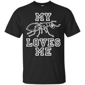 My Ant (Aunt) Loves Me Bug Insect Family Love Support TShirt