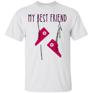 MY BEST FRIEND ALWAYS ME IS My ConverseSHOES T SHIRT