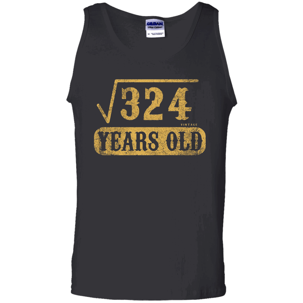 18 yrs years old 18th birthday Square Root of 324 T Shirt - Tank Top