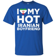 I Love My Hot Iranian Boyfriend Cute Iran Native Relationship T-Shirt