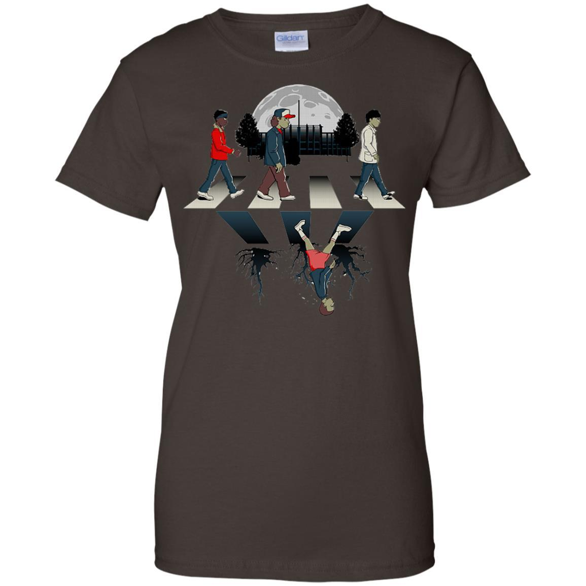 Stranger Upside Things Down Road T-shirts