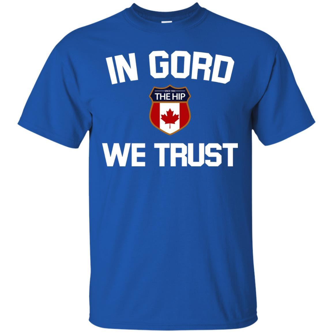 In G-O-R-D We Trust with Emble T-Shirt