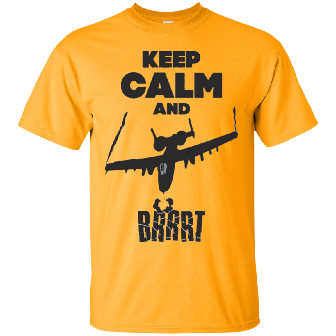 A-10 Warthog Keep Calm TShirt – T-Shirt