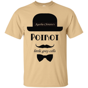 Agatha Christie's Poirot Little Gray Cell TShirt – T-Shirt