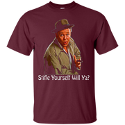 All In The Family Archie Bunker Stifle Yourself Black Shirt – T-Shirt