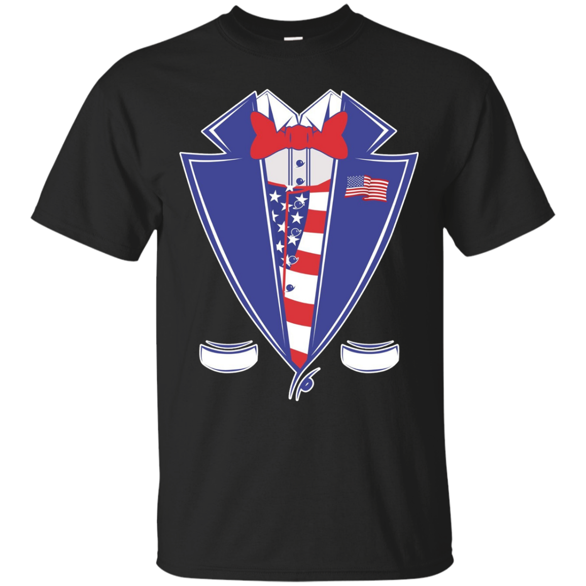American Patriot Tuxedo 4th July Independence Day – T-Shirt